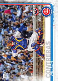 2019 Topps Opening Day #49 Willson Contreras NM-MT Chicago Cubs