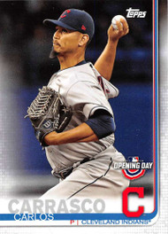2019 Topps Opening Day #72 Carlos Carrasco NM-MT Cleveland Indians