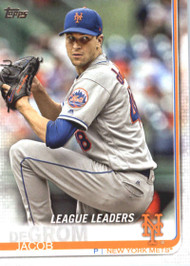 2019 Topps #19 Jacob deGrom NM-MT New York Mets