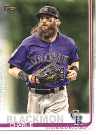2019 Topps #16 Charlie Blackmon NM-MT Colorado Rockies