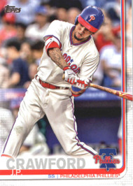 2019 Topps #15 J.P. Crawford NM-MT Philadelphia Phillies