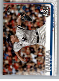 2019 Topps Update #US9 Masahiro Tanaka NM-MT New York Yankees