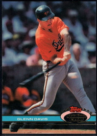 1991 Stadium Club #391 Glenn Davis VG Baltimore Orioles