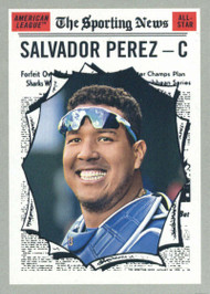 2019 Topps Heritage #351 Salvador Perez NM-MT  Kansas City Royals