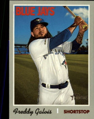 2019 Topps Heritage High Number #575 Freddy Galvis NM-MT Toronto Blue Jays