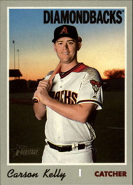 2019 Topps Heritage High Number #592 Carson Kelly NM-MT Arizona Diamondbacks