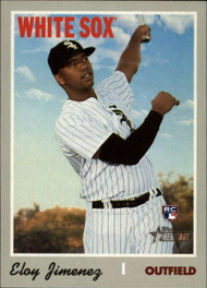 2019 Topps Heritage High Number #516 Eloy Jimenez NM-MT RC Rookie Chicago White Sox