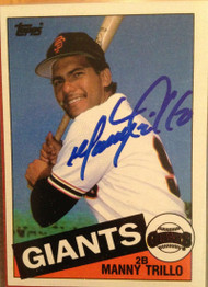 Manny Trillo Autographed 1985 Topps #310