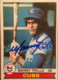 Manny Trillo Autographed 1979 Topps #639