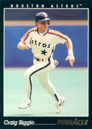 1993 Pinnacle #50 Craig Biggio VG Houston Astros