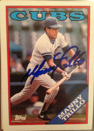Manny Trillo Autographed 1988 Topps #287