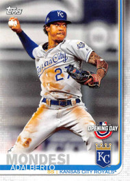 2019 Topps Opening Day #7 Adalberto Mondesi NM-MT Kansas City Royals