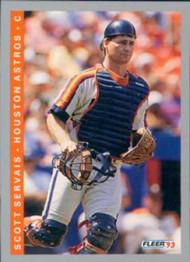 1993 Fleer #442 Scott Servais VG Houston Astros