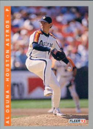 1993 Fleer #440 Al Osuna VG Houston Astros