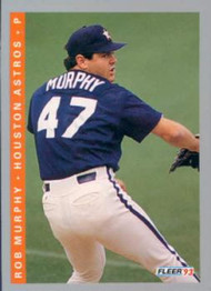 1993 Fleer #439 Rob Murphy VG Houston Astros