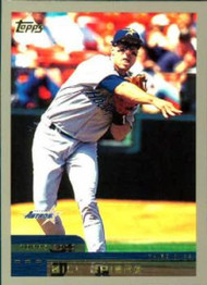 2000 Topps #163 Bill Spiers VG Houston Astros