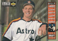 1994 Collector's Choice #29 Billy Wagner VG RC Rookie Houston Astros