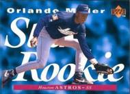 1995 Upper Deck #211 Orlando Miller SR VG RC Rookie Houston Astros