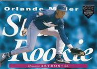 1995 Upper Deck Electric Diamond #211 Orlando Miller SR VG RC Rookie Houston Astros