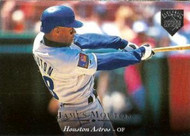 1995 Upper Deck Electric Diamond #28 James Mouton VG Houston Astros