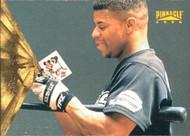 1996 Pinnacle #95 James Mouton VG Houston Astros