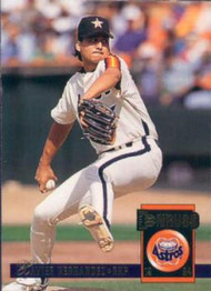 1994 Donruss #143 Xavier Hernandez VG Houston Astros