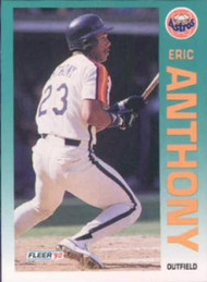 1992 Fleer #424 Eric Anthony VG Houston Astros