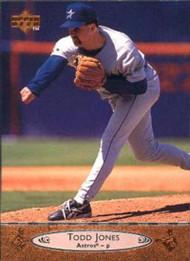 1996 Upper Deck #341 Todd Jones VG Houston Astros