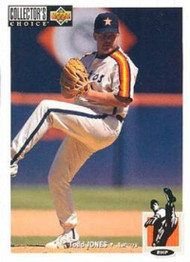 1994 Collector's Choice #153 Todd Jones VG Houston Astros