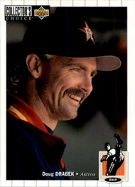 1994 Collector's Choice #95 Doug Drabek VG Houston Astros
