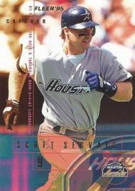 1995 Fleer #468 Scott Servais VG Houston Astros