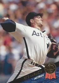 1993 Leaf #51 Pete Harnisch VG Houston Astros