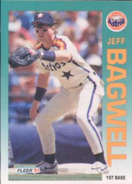 1992 Fleer #425 Jeff Bagwell VG Houston Astros