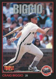 1993 Triple Play #100 Craig Biggio VG Houston Astros