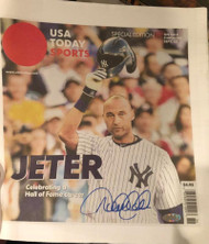 Derek Jeter Autographed USA TODAY Farewell Issue STEINER Hall of Fame 2020