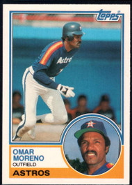 1983 Topps Traded #76T Omar Moreno VG Houston Astros