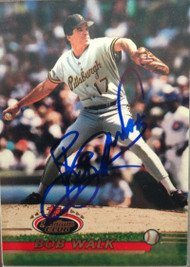 Bob Walk Autographed 1993 Stadium Club #421