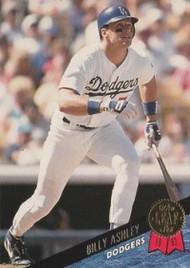 1993 Leaf #100 Billy Ashley VG Los Angeles Dodgers