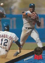 1993 Leaf #127 Lenny Harris VG Los Angeles Dodgers