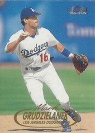 1998 Fleer Update #U89 Mark Grudzielanek VG Los Angeles Dodgers
