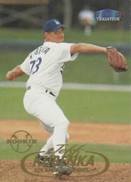 1998 Fleer Update #U99 Jeff Kubenka VG RC Rookie Los Angeles Dodgers