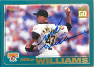 Mike Williams Autographed 2001 Topps #303