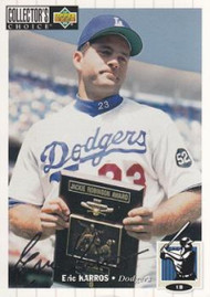 1994 Collector's Choice #158 Eric Karros VG Los Angeles Dodgers