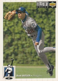 1994 Collector's Choice #70 Brett Butler VG Los Angeles Dodgers