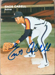 Enos Cabell Autographed 1984 Mother's Cookies #11