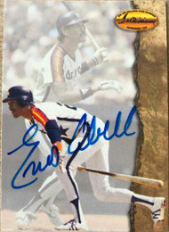 Enos Cabell Autographed 1994 Ted Williams Card Company #35