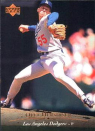 1995 Upper Deck #74 Orel Hershiser VG Los Angeles Dodgers