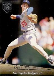 1995 Upper Deck Electric Diamond #74 Orel Hershiser VG Los Angeles Dodgers