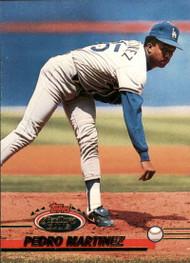 1993 Stadium Club #365 Pedro Martinez VG Los Angeles Dodgers