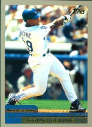 2000 Topps #109 Adrian Beltre VG Los Angeles Dodgers